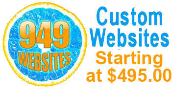 (949) Websites | Custom Websites for $995.00